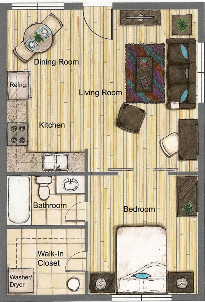 one bedroom furnished apartments in tampa fl urban oasis